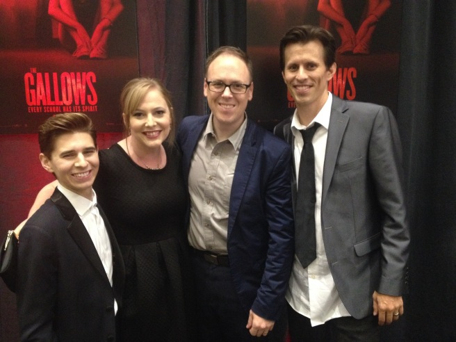Chris Lofing, Erin, Me, Travis Cluff