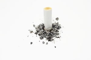 This is a cigarette butt.